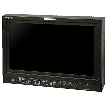 "Ikegami 17"" 1080p HDTV/SDTV Multi-Format LED Monitor, 1000:1 Contrast Ratio, 450cd/m2 Brightness, 3G-SDI/HD-SDI/SD-SDI"