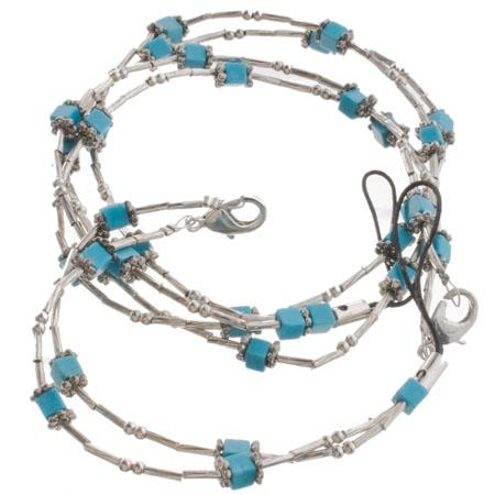 Kodak Fashion Jewelry Matching Neck & Wrist Camera Strap in Turquoise, for Many C, M & V Series Digital Cameras.