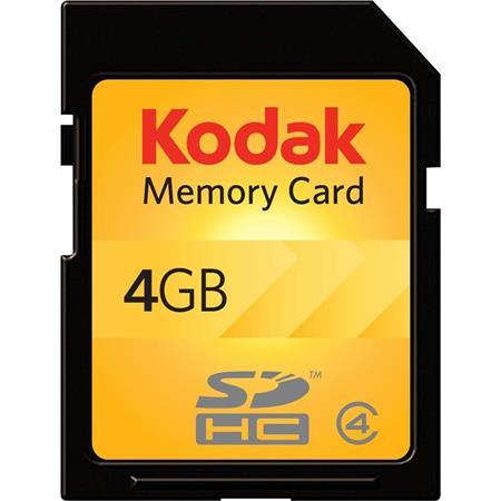 Kodak 4 GB Secure Digital High Capacity (SDHC) Memory Card. image