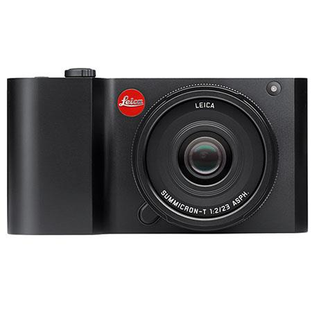 Leica T Digital Camera - Black, 16mp, with Touchscreen, Wifi, 16GB Built In Memory, Programmable My Camera Settings