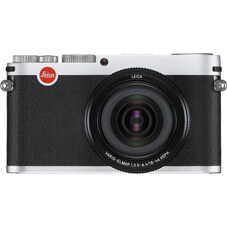 Leica X Vario Compact Digital Camera, with Vario Elamr 28-70 mm f/3.5 - 6.4 ASPH Lens, 16.1 MP, Iconic Design, Silver