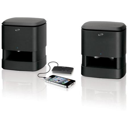 iLive ISA30B Wireless Indoor/Outdoor Speaker System with Digital 2.4 GHz Connection Transmitter