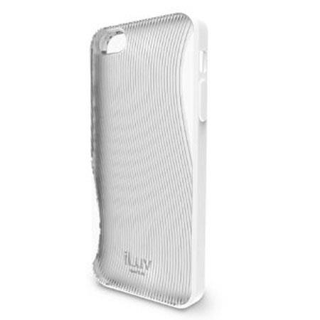 iLuv Twain Dual Protection Case for iPhone 5, White