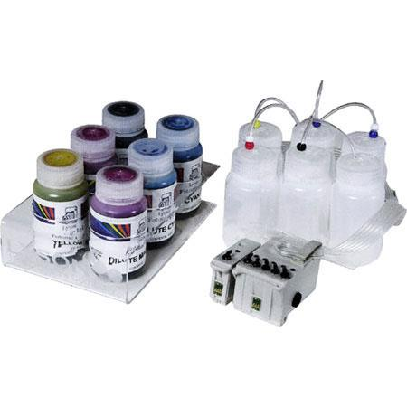 Lyson Bulk Continuous Feed Lysonic Archival Photo Ink System (CIS) for Epson Stylus Photo 1270, 1280 and 1290 Inkjet Printers