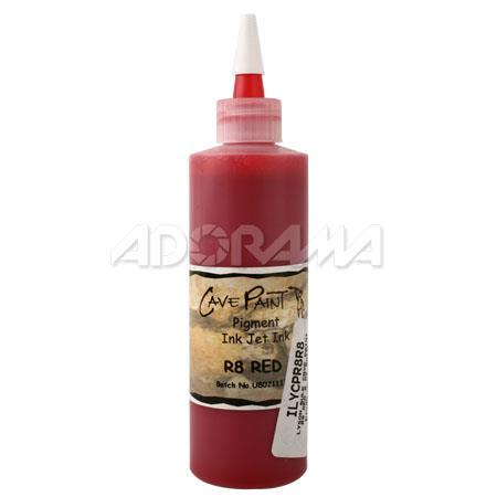 Lyson Cave Paint R8 Red Ink, 8 oz. Bulk Bottle for the 8 Color Bulk System for Epson Stylus Photo R800 & R1800 Inkjet Printers