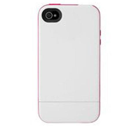Incase Pro Slider Case for iPhone 5, White/Raspberry