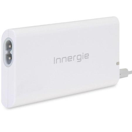 Innergie mCube Lite Ultra Slim Universal Power Adapter with USB Power Port, 100-240 Volt AC Input, 65W Continuous Output Power