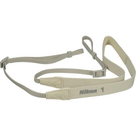 Nikon AN-N1000 Neck Strap for Nikon 1 J1 / V1 Digital Camera, Beige