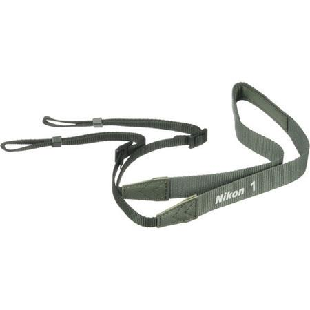 Nikon AN-N1000 Neck Strap for Nikon 1 J1 / V1 Digital Camera, Khaki