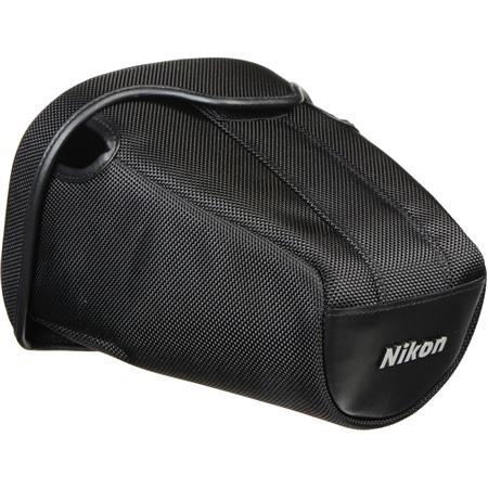 Nikon CF-DC1 Semi-Soft Case for Select D-SLRs with Lens Attached - Compatible with D40, D3100, D60, D3000, D40X