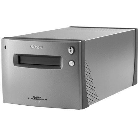 Nikon Super Coolscan 9000-ED Multi-Format Film Scanner with IEEE-1394 Firewire Interface. image
