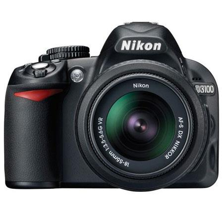 Nikon D3100 Digital SLR Camera with 18-55mm NIKKOR VR Lens - Refurbished by Nikon U S A