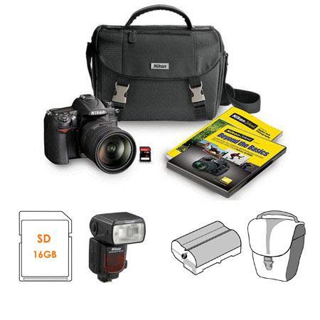 Nikon D7000 DSLR Camera Kit with 18-200mm DX VR Lens - Bundle - with Nikon SB-910 TTL AF Shoe Mount Speedlight, USA Warranty