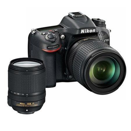 Nikon D7100 Camera w/18-105mm VR Lens - Bundle - with  18-140mm f/3.5-5.6G ED AF-S DX VR Lens, Camera Bag, and 3-Piece Filter Kit (UV, CPL, ND)