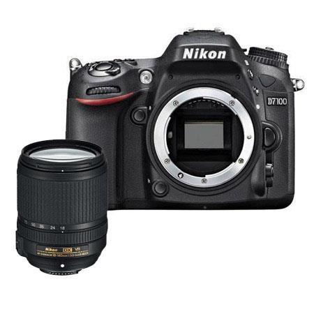 Nikon D7100 DX-format Digital SLR Camera Body, Black - Bundle - with  18-140mm f/3.5-5.6G ED AF-S DX VR Lens, Camera Bag, and 3-Piece Filter Kit (UV, CPL, ND)