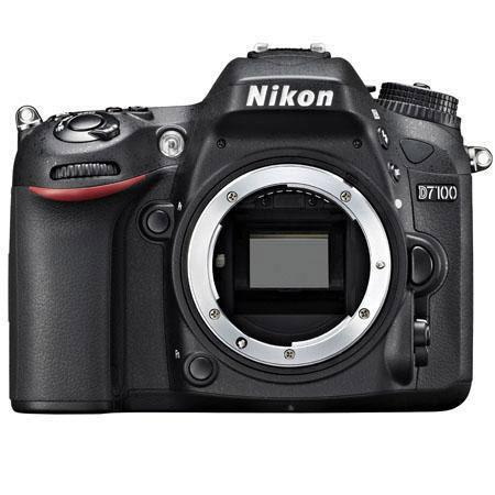 Nikon D7100 DX-format Digital SLR Camera Body, Black - Refurbished by U.S.A