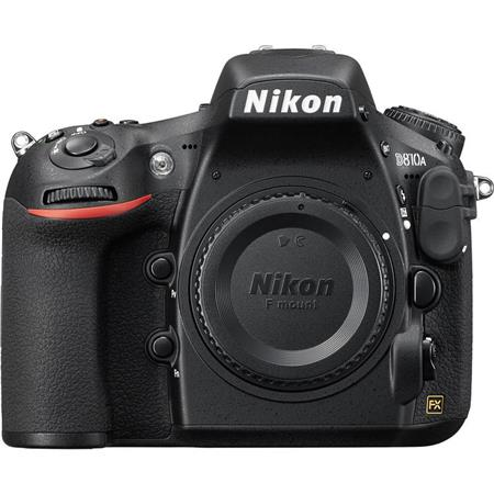 "Nikon D810A DSLR Camera Body with IR-Cut Filter, 36.3MP, 3.2"" LCD Display, Full HD 1080p Video, EXPEED 4 Image Processor, Optimized for Astrophotography"