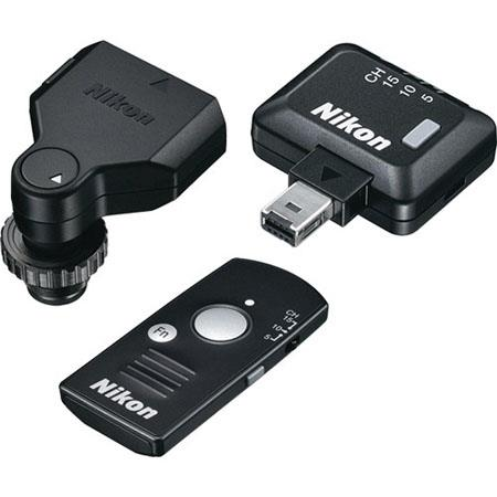 Nikon WR-10 Wireless Remote Controller Set - Supplied with WR-T10 Wireless Remote Controller, WR-R10 Wireless Remote Transceiver, WR-A10 Wireless Remote Adapter