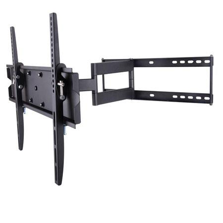 "inland 05324 Full Motion Flat Panel TV Wall Mount for 32-60"" Flat Panel Display"