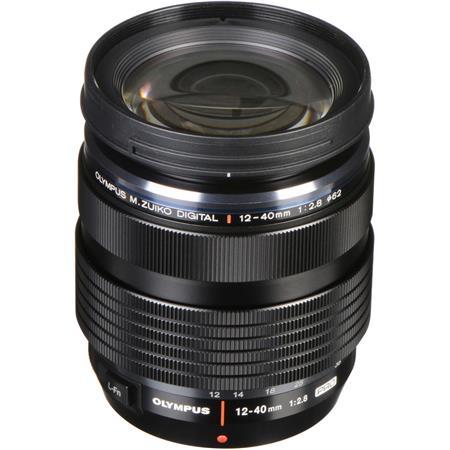 Olympus Zuiko Digital ED 12-40mm f/2.8 Pro Zoom Lens for Four Thirds System - Black