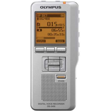 Olympus DS-2400 Digital Voice Recorder with DSS Player Software image