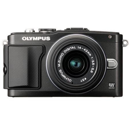 Olympus E-PL5 Mirrorless Digital Camera with 14-42mm f/3.5 II Lens, 3.0