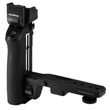 Olympus FP-1D, Power Grip Flash Bracket with Hot Shoe Mount. image