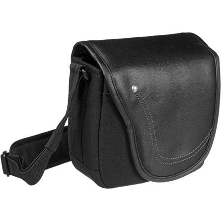 Olympus Mini-Messenger Bag with Shoulder Strap, Black