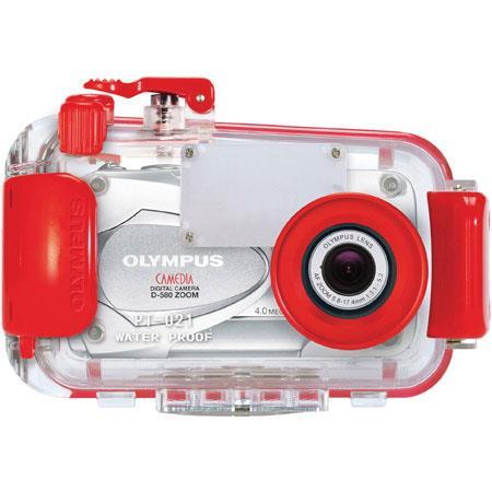 Olympus pt 021 underwater housing for d 575 d 580 digital cameras