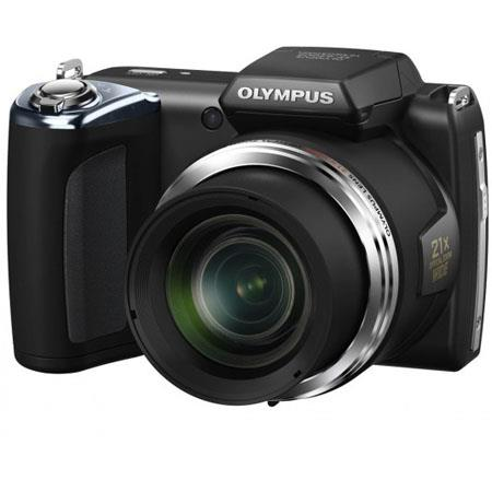 "Olympus SP-620 Ultra Zoom 16MP Digital Camera, 21x Optical/4x Digital Zoom, 3.0"" LCD Screen, HD Movie, High Speed Sequential Shooting, Black"