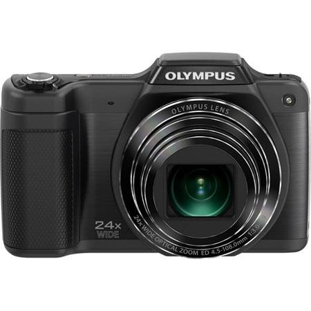 "Olympus SZ-15 Digital Camera, 16 Megapixel - CCD 1/2.3, 24x Optical + 2x Super Resolution + 4x Digital Zoom, 3"" LCD, HD Video, Black"