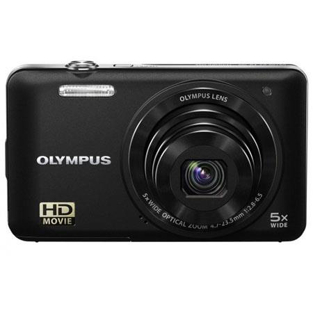 "Olympus VG-160 14MP Digital Camera with 5x Optical/4x Digital Zoom, 3.0"" LCD Monitor, HD Video, Black"