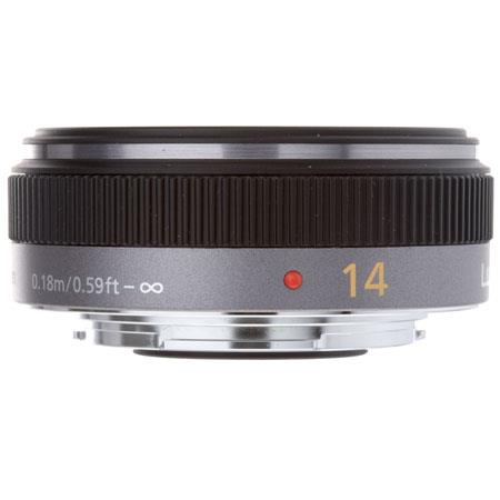 Panasonic H-H014 Lumix G 14mm, f/2.5 Aspherical Lens for Micro Four Thirds Lens Mount Systems