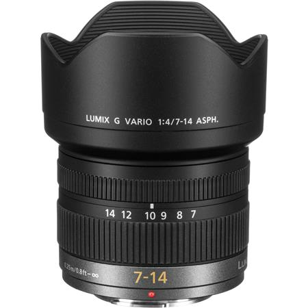 Panasonic 7-14mm f/4 Wide Angle Zoom Lens for Micro Four Thirds Lens Mount Systems