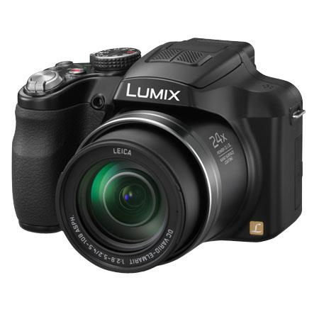 Panasonic Lumix DMC-FZ60 16 Megapixel Digital Camera, Leica DC Vario-Elmarit 24x Zoom Lens, 10 FPS Hi-Speed Shooting, Full HD 1080 60i Video Recording