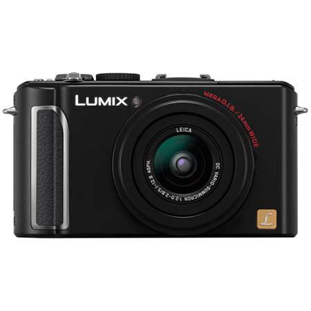 Panasonic Lumix DMC-LX3K 10 Megapixel Digital Camera with f/2.0 24mm Wide-Angle Lens, 2.5x Optical & 4x Digital Zoom, Black