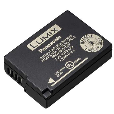 Panasonic DMW-BLD10 Lithium-Ion 7.2v, 1010mAh, 7.3Wh Battery for GF2 and G3 Panasonic Lumix Digital Cameras
