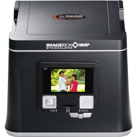 Pacific Image Image Box, Stand-Alone 9MP ST 3-in-1 Film, Slide & Photo Digital Converter with IR Technology