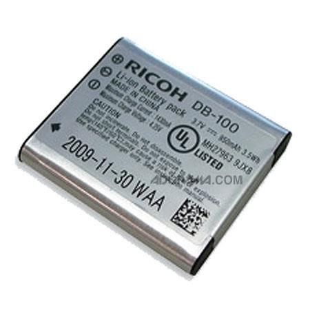 Ricoh DB-100 Lithium-ion Rechargeable Battery for CX3 and CX4 Digital Camera