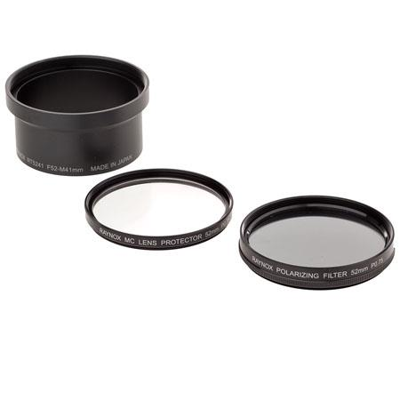 Raynox PLP-300 Filter Kit for Olympus C-5050/4040/4100/4000 Zoom, with PL Filter, MC Filter, Filter Cap, RT5241 Filter Holder