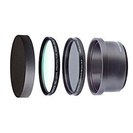 Raynox PLP-S30 Filter Kit for Canon PowerShot S2IS, with PL Filter, MC Filter, Filter Cap, RB52S2 Filter Holder