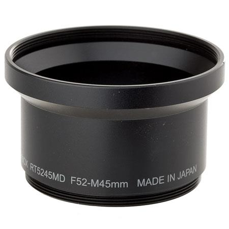 Raynox Camera Adapter Tube, adapts Conversion Lens with 52mm Filter Thread to Konica-Minolta DiMAGE Z1 & Z2 Digital Cameras