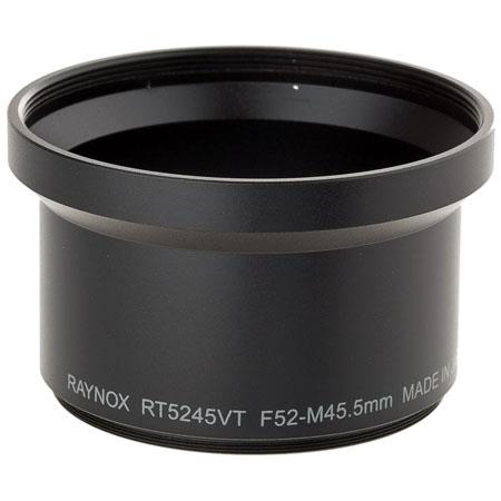 Raynox Camera Adapter Tube, adapts Raynox Telephoto, Macro & DCR-FE180PRO Lenses with 52mm Filter Thread to Sony CyberShot DSC-V1