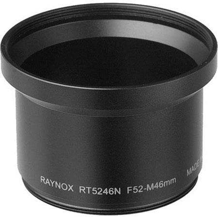 Raynox Camera Adapter Tube, adapts Conversion Lenses with 52mm Filter Thread to Nikon Coolpix 5000