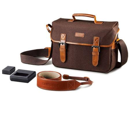 Samsung NX Camera Bag with Charger, BP1130 Battery and Strap Bundle for NX300 & NX2000 Digital Cameras