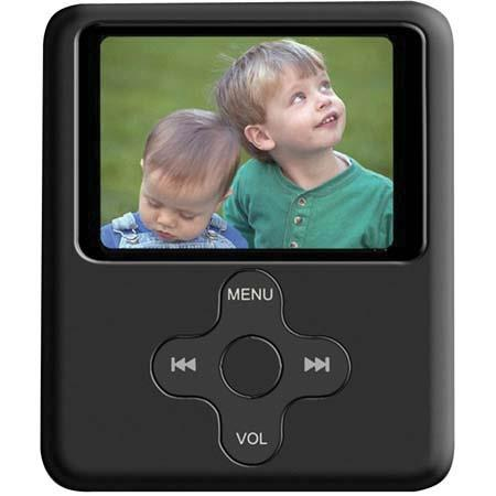 iSonic Snapbox X85, 8-in-1 Multifunction 8-GB MP3 & MP4 Player, FM Tuner/Recording, Video Playback (AMV File) Voice Recorder / Playback, Black
