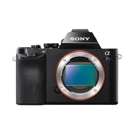 Sony Alpha a7S Mirrorless Digital Camera, Full Frame, 12MP, 4K Video BIONZ X Processor