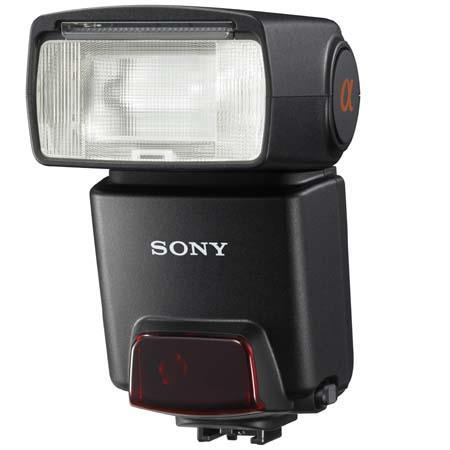 Sony HVL-F42AM Shoe Mount Flash for the alpha Digital SLR Cameras, Guide Number 42. image