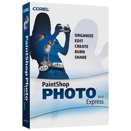 Corel Paintshop Photo Express 2010 Photo Editing Software