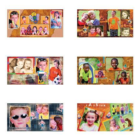 Dg Foto Art Galleria School, Fun Vol.-1, Creative Plug-in Software for Dg Foto Art Lite, Classic, Gold or DeZigner Series, for Windows XP & 2000. image